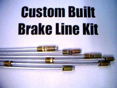 Find kit of Metal brake lines: Ford, Mercury 1949 1950 1951 1952 1953-1959 (complete) motorcycle in Duluth, Minnesota, United States