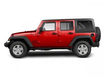 2010 Jeep Wrangler Unlimited Sport (Flame Red)
