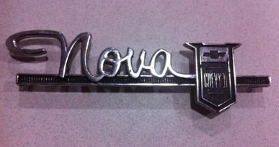 Purchase 1963 1964 Chevy Nova II Emblem Trim motorcycle in Island Lake, Illinois, US, for US $33.99