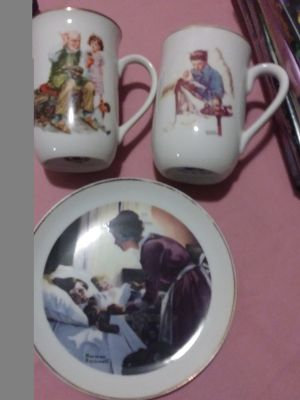 Norman Rockwell collectables
