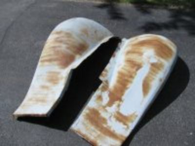 1932 Ford pickup front fenders