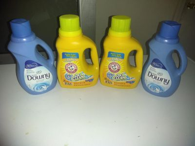 Laundry soap and fabric softener $10 for all