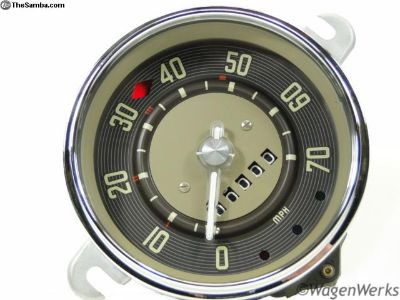 Bus Speedometer 1955 to 1960 12-59 Rebuilt