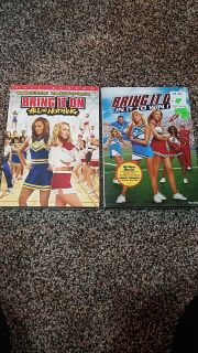 2 Bring It On DVDs