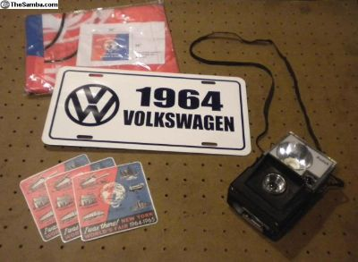 1964-1965 World's Fair-NOS VW Car Show Accessories