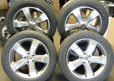 Find 20'' JEEP CHEROKEE POLISHED FINISH WHEELS RIMS OEM BRAND NEW GOODYEAR TIRES motorcycle in Garden Grove, California, US, for US $1,349.00