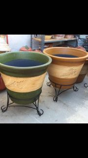 Looking for two used large pots