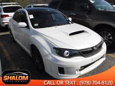 2011 Subaru Impreza WRX Base (Satin White Pearl)