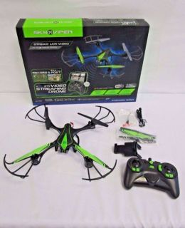 Sky Viper V950STR Video Streaming Drone 2.4Ghz WiFi Dyna Flight My Son Literally Tried Once only Still Brand New in the box