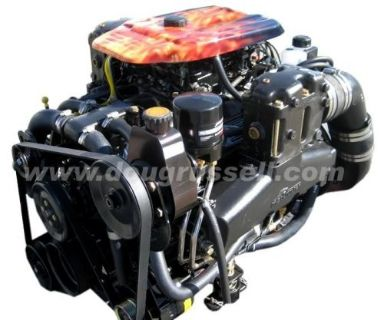 Purchase Mercruiser 357 MAG Bravo 4V Engine Only 1 Year Warranty motorcycle in Worcester, Massachusetts, United States, for US $6,195.00