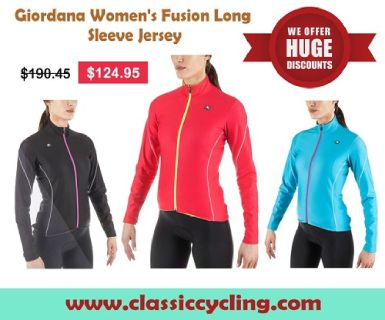 Huge Discount on Winter Long Sleeves Cycling Jersey for Women