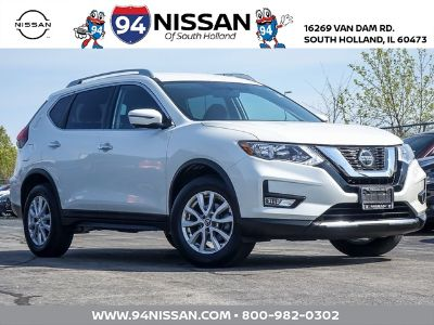 2018 Nissan Rogue (Pearl White)