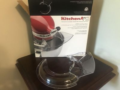 Kitchen Aid pouring shield