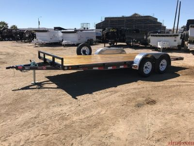 Car Hauler, 4in Channel Car Trailer, PJ Trailers C4182