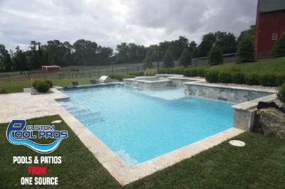 Custom swimming pool design New Jersey