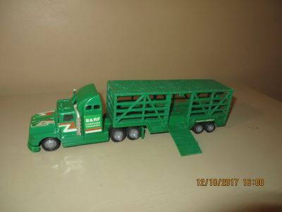 Soma Mighty Wheels Livestock Transport Tractor Trailer Vintage 1998