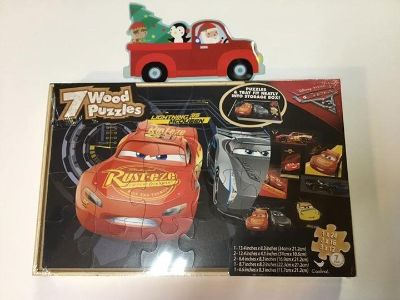 Cars Wood Puzzles