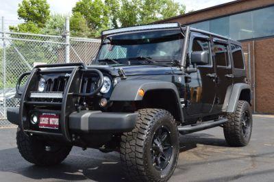 2015 Jeep Wrangler Unlimited 4WD 4dr Sport (Black)