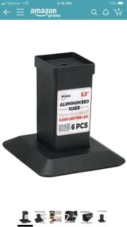 ISO Bed Risers (6)