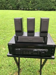 SONY model Str Se 391 AM FM Receiver 5.1 Dolby with speakers
