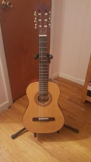 Hohner guitar and stand
