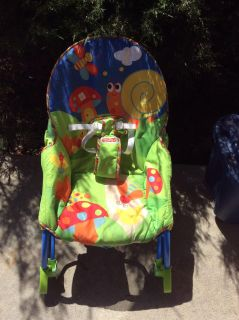 Infant to toddler rocker with calming vibrations in EUC. Cross posted.