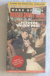 Sealed {JOHN WAYNE - WAKE OF THE RED WITCH} Vhs Tape