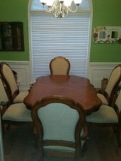 Formal Dining Room table, chairs, china cabinet