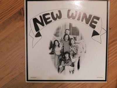 NEW WINE VINYL LP Vintage