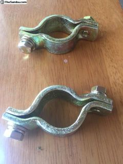 FS: 911/912 Headlight Wire Tube Clamps