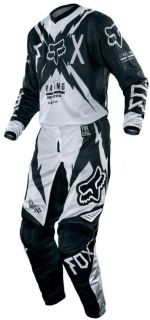 Buy Fox HC/180 Giant Vented Black Kit Pant & Jersey Combo Dirtbike ATV 2013 Racing motorcycle in Ashton, Illinois, US, for US $142.90