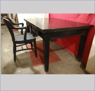 Vintage Oak banker/lawyer's desk and chair