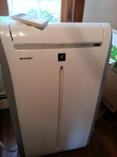 Sharp Like New Portable Air Conditioner, Dehumidifier and Fan