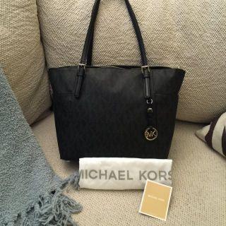 MICHAEL Michael Kors Black Tote / Handbag / Purse NWT