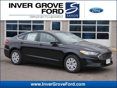 2019 Ford Fusion S (Agate Black)