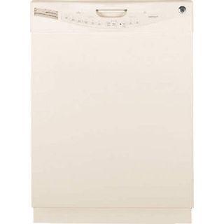 Set of 4 GE Energy Saver Appliances (Fridge, Stove, MW, DW) Bisque white