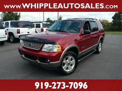 2004 Ford Explorer Eddie Bauer (Red)