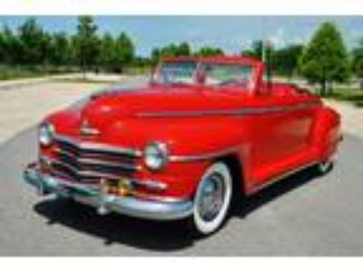 1948 Plymouth Special Deluxe Convertible