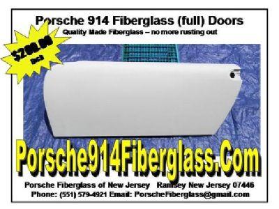 Porsche 914 Full Doors Fiberglass