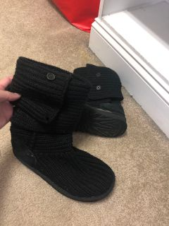 Authentic ugg sweater boots
