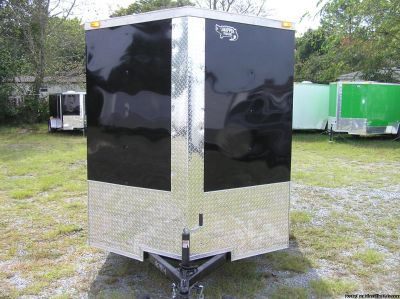 6 x 10 Enclosed Trailers with Extra Height