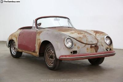 1958 Porsche 356A Cabriolet with 2 tops