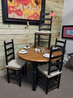 Round Table with 4 Chairs @ Brass Bear 2652 Valleydale Rd. Birmingham (Hoover area) AL 35244 -- 205-566-0601