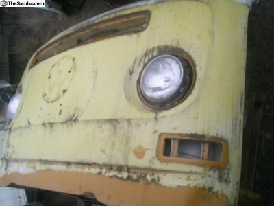 1968-72 Bay Window Nose and frame