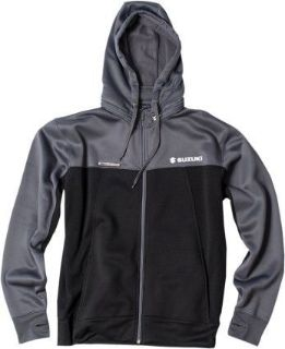 Sell Factory Effex Tracker Mens Zip Up Hooded Jacket Suzuki/Black/Gray motorcycle in Holland, Michigan, United States, for US $88.10