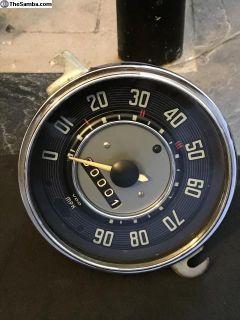 Refurbished 2/66 Bug Speedo