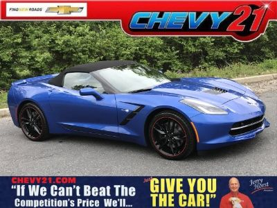 2019 Chevrolet Corvette Stingray Z51 (Blue Metallic)