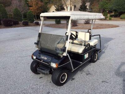 2002 Club Car Golf Cart with Vinyl Enclosure