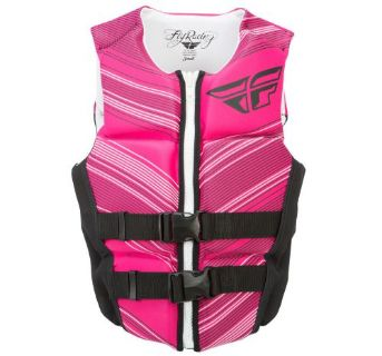 Purchase FLY Racing Women's Neoprene Life vest Black/Pink motorcycle in Holland, Michigan, United States, for US $80.44