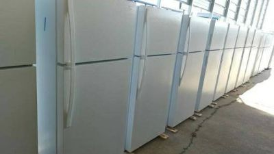 Many Top and Bottom Refrigerator Units